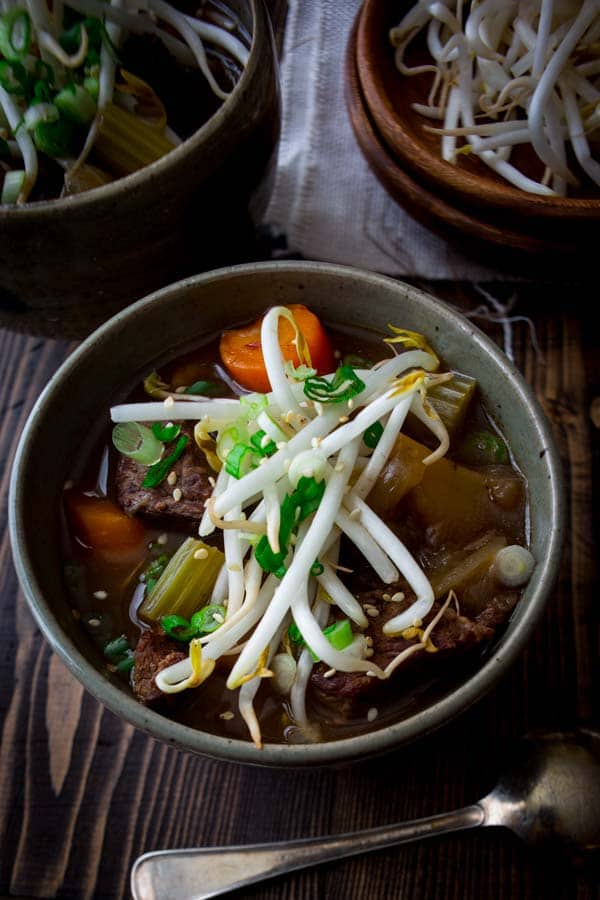 Slow-cooker Chinese 5-spice beef stew recipe