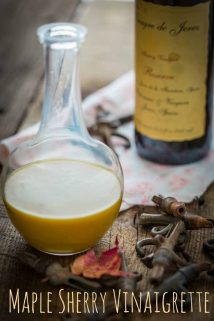 Maple Sherry Vinaigrette | Paleo and Vegan