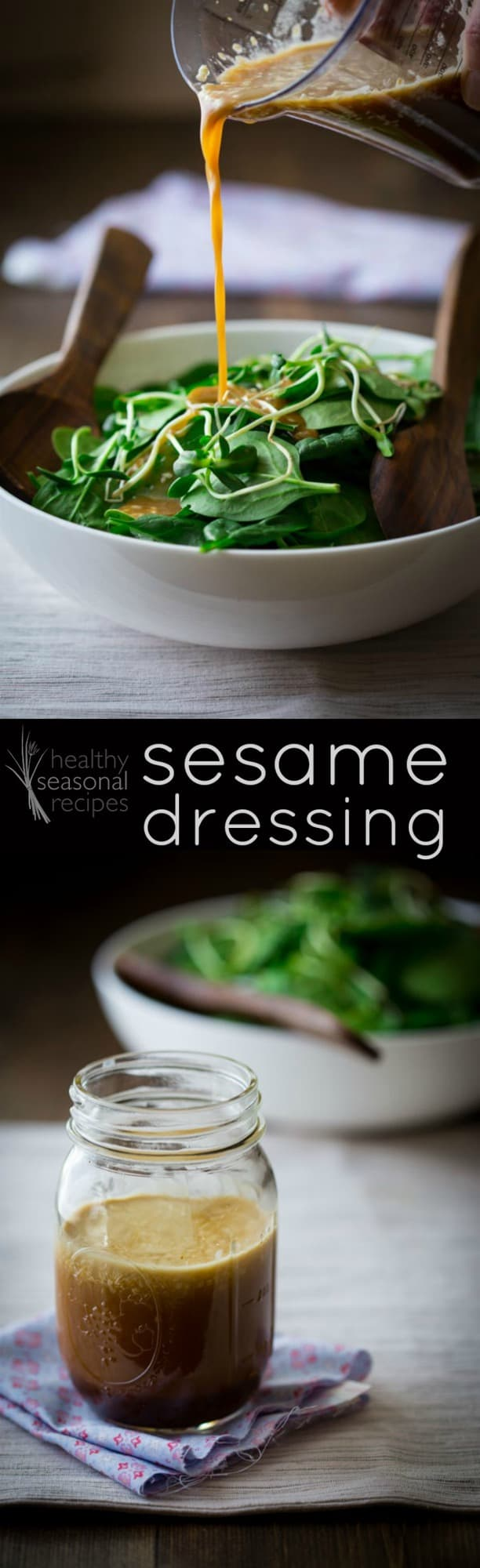 asian sesame dressing - Healthy Seasonal Recipes