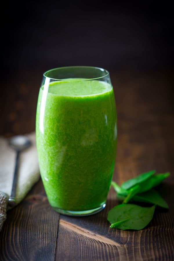 vanilla green protein smoothie
