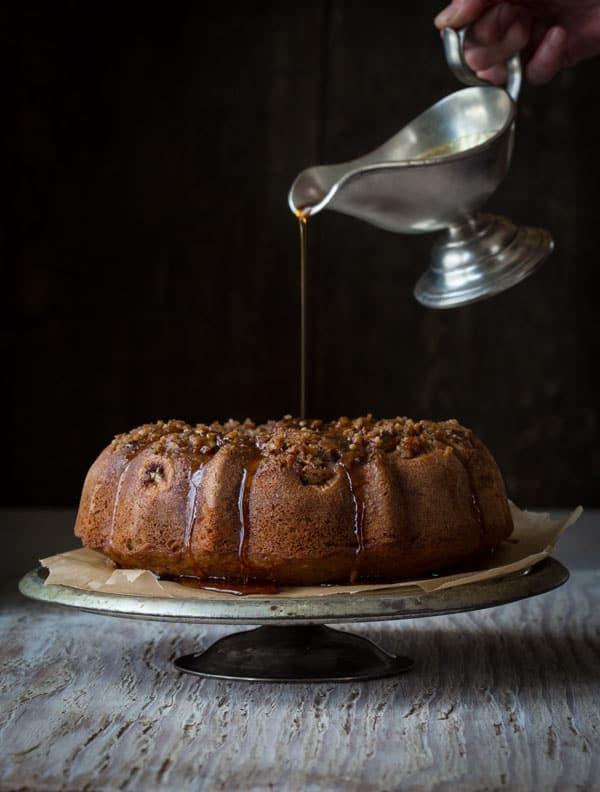 Maple Bananas Foster Bundt Cake by Katie Webster in Maple, 100 Sweet and Savory Recipes Featuring Pure Maple Syrup