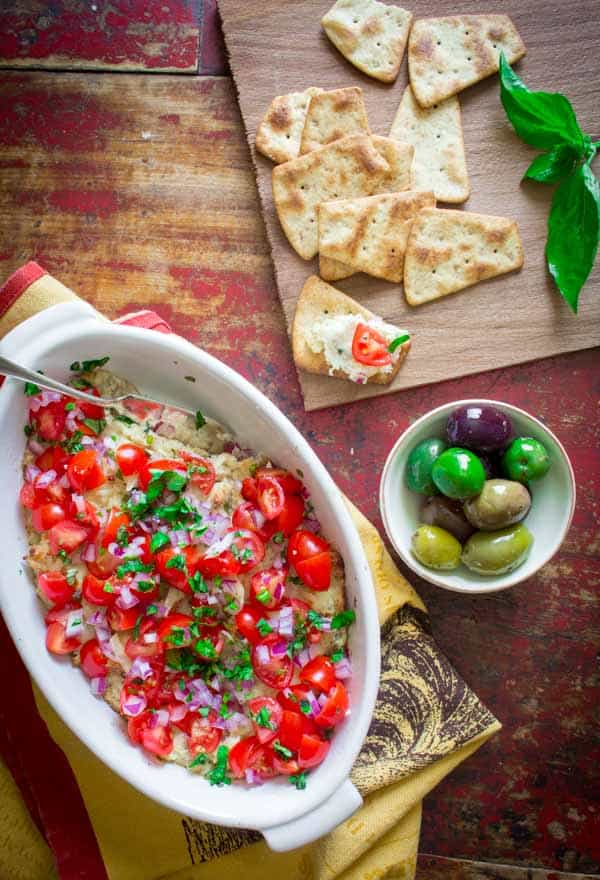 Hot Italian Cheese Dip | Cabot Cookbook Giveaway