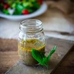 10 minute kalamata olive and basil vinaigrette | Naturally gluten-free healthyseasonalrecipes.com