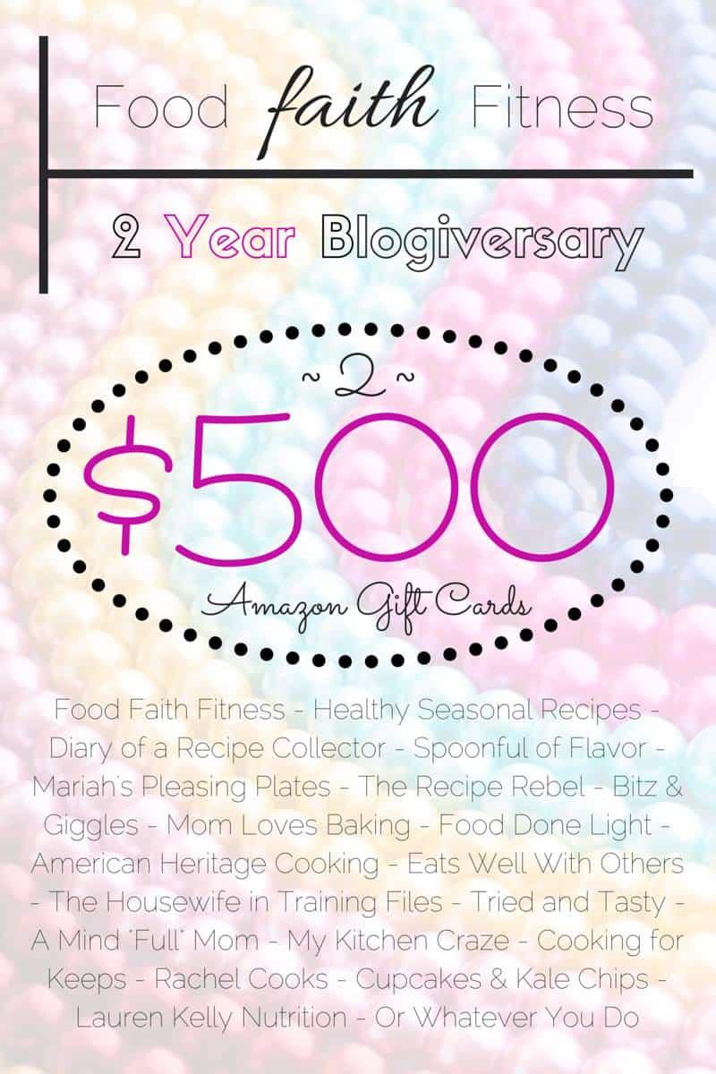 Win $500 on Healthy Seasonal Recipes