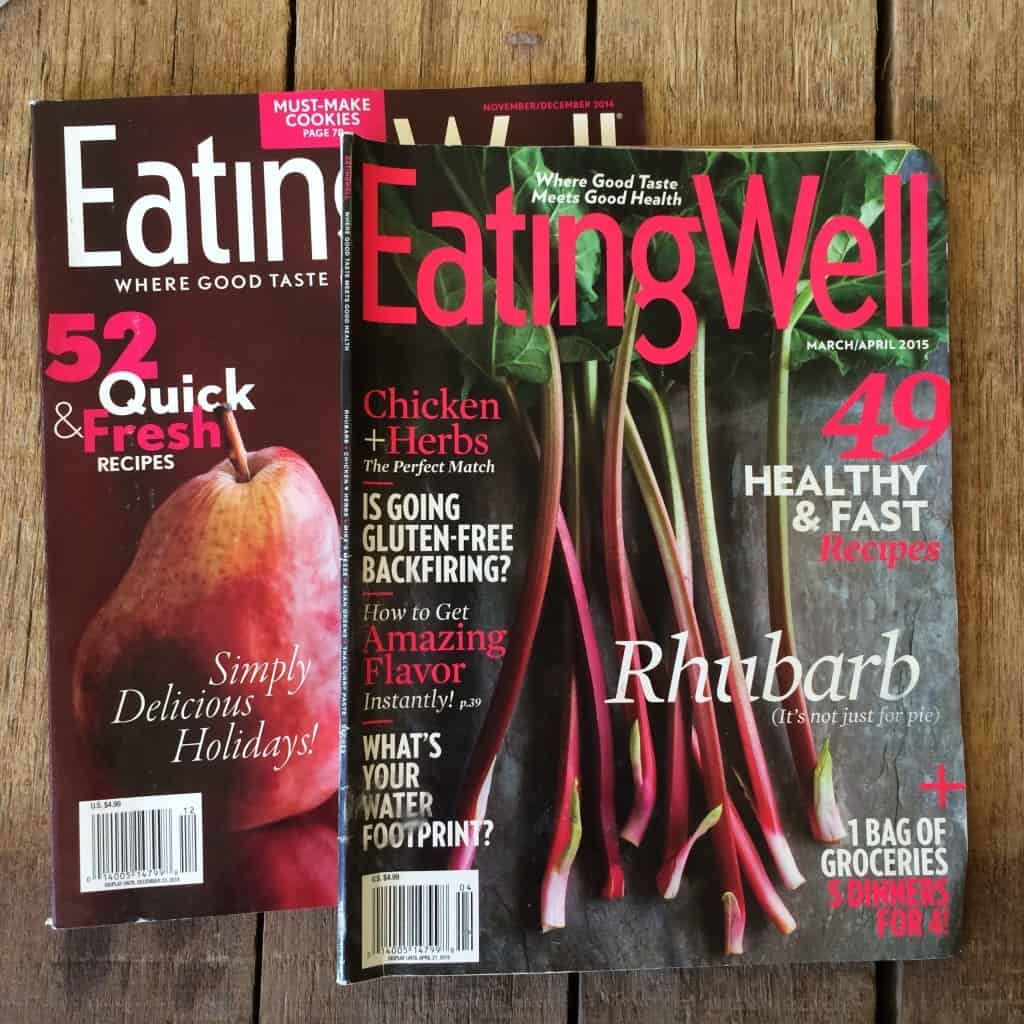 eeatingwell magazine covers