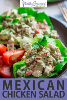 up close mexican chicken salad