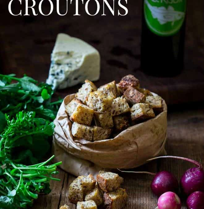 simple homemade croutons