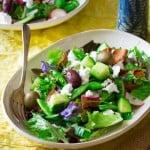 Snap Pea, Mint and Feta Fattoush Salad | Healthy Seasonal Recipes
