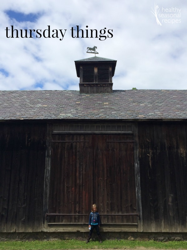 thursday things ~ time management and defining riverbanks