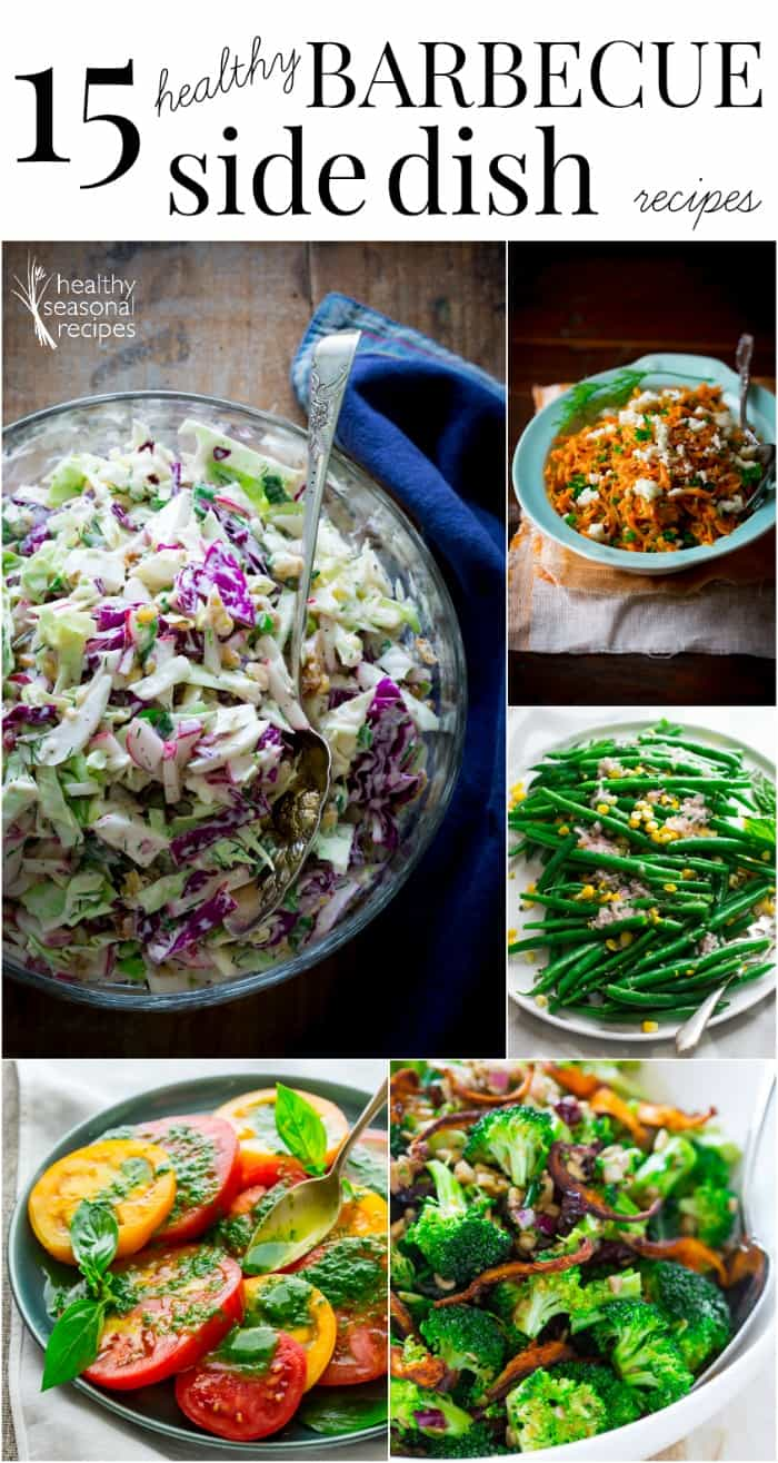 15 healthy barbecue Side-dish recipes on Healthy Seasonal Recipes
