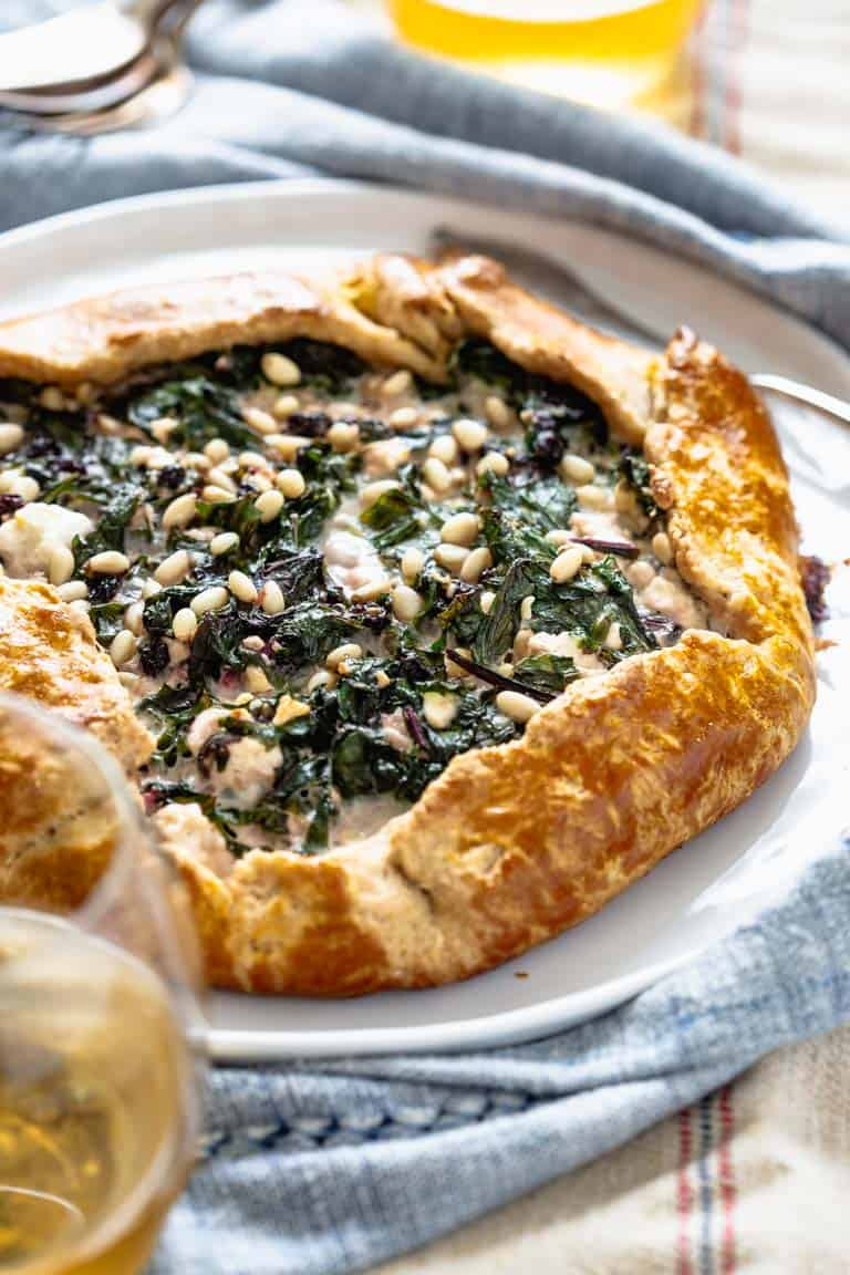 Healthy Savory Galette