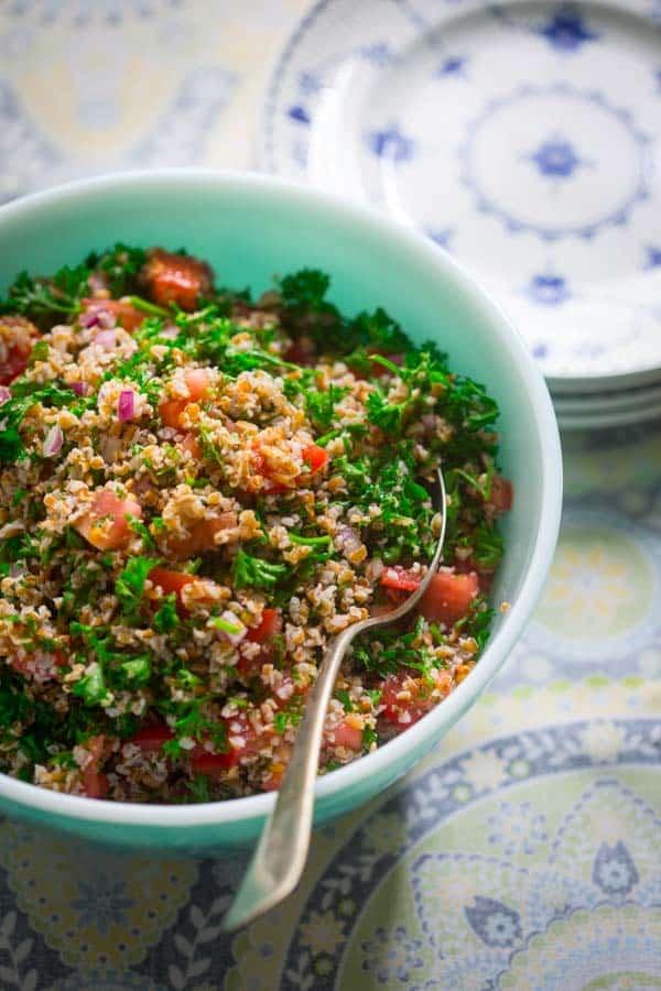 Simple Tabbouleh on Healthy Seasonal Recipes