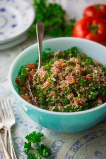 Simple Tabbouleh on Healthy Seasonal Recipes