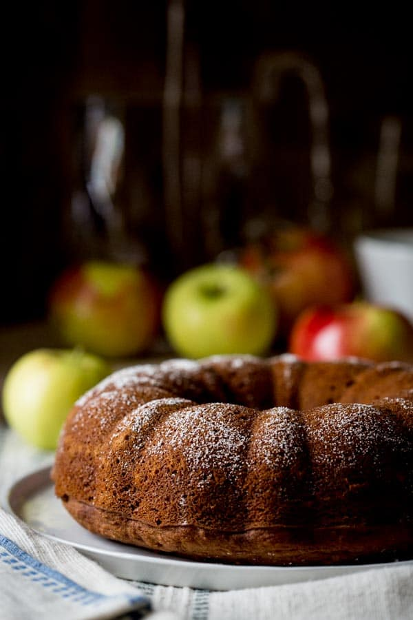 Gluten Free Applesauce Snack Cake