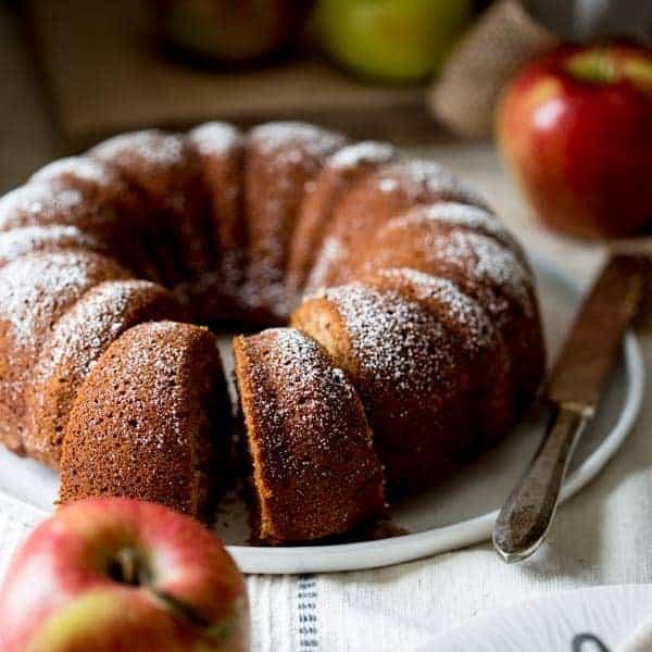 gluten-free applesauce snack cake