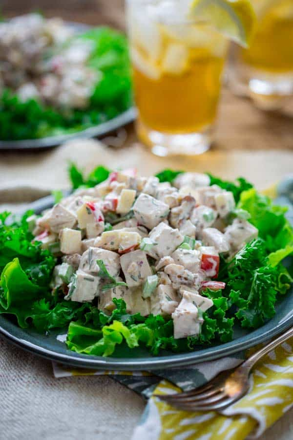Healthy waldorf chicken salad healthy seasonal recipes healthy waldorf chicken salad on healthyseasonalrecipes gluten free lowcarb and primal forumfinder Images