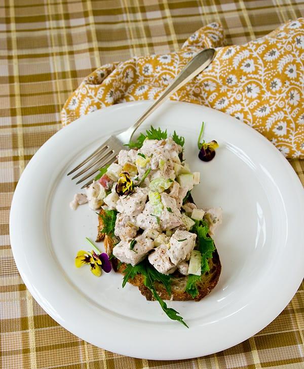 Healthy Waldorf Chicken Salad on healthyseasonalrecipes.com gluten-free, lowcarb and primal