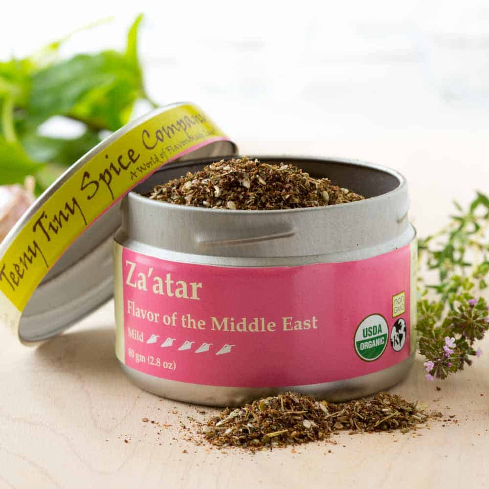 Za'atar spice mix from Teeny Tiny Spice Co