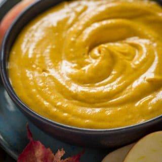 Maple Pumpkin Dip on Healthy Seasonal Recipes by Katie Webster