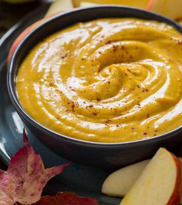 maple pumpkin pie dip