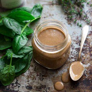 Walnut Balsamic Vinaigrette on Healthy Seasonal Recipes by Katie Webster