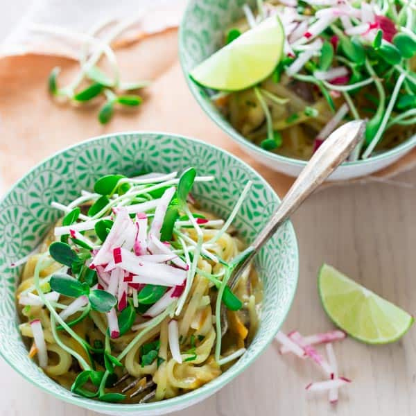 coconut lime noodle bowls