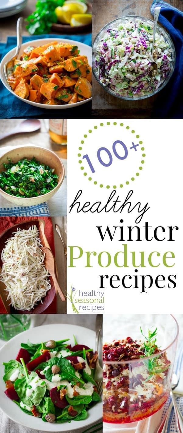 100 winter CSA produce recipes ~ thursday things