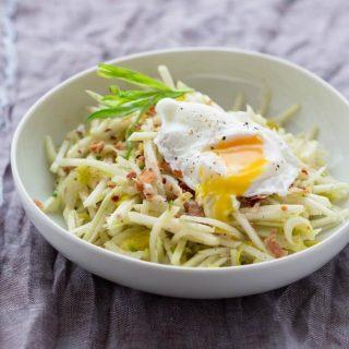 Kohlrabi Bistro Salad | Gluten Free | Dairy Free | Vegetables | Healthy Seasonal Recipes