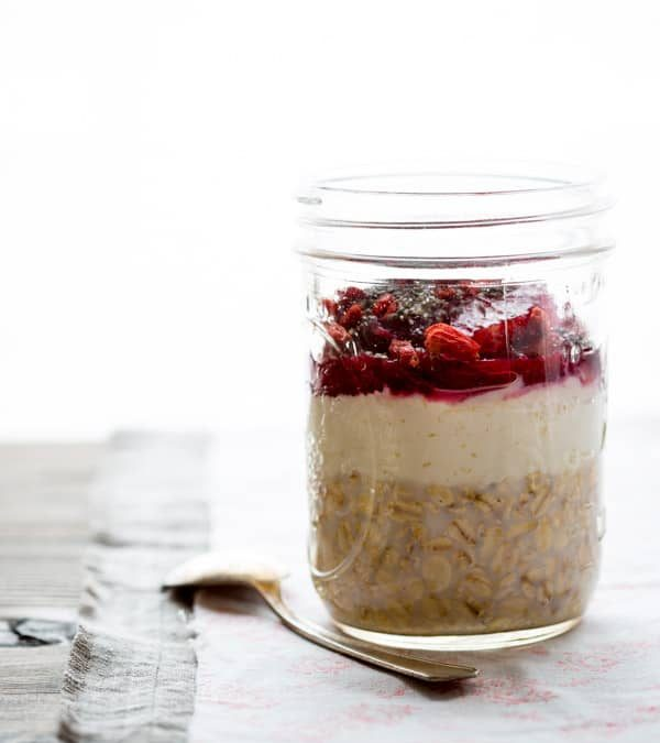 blood orange creamsicle overnight oats