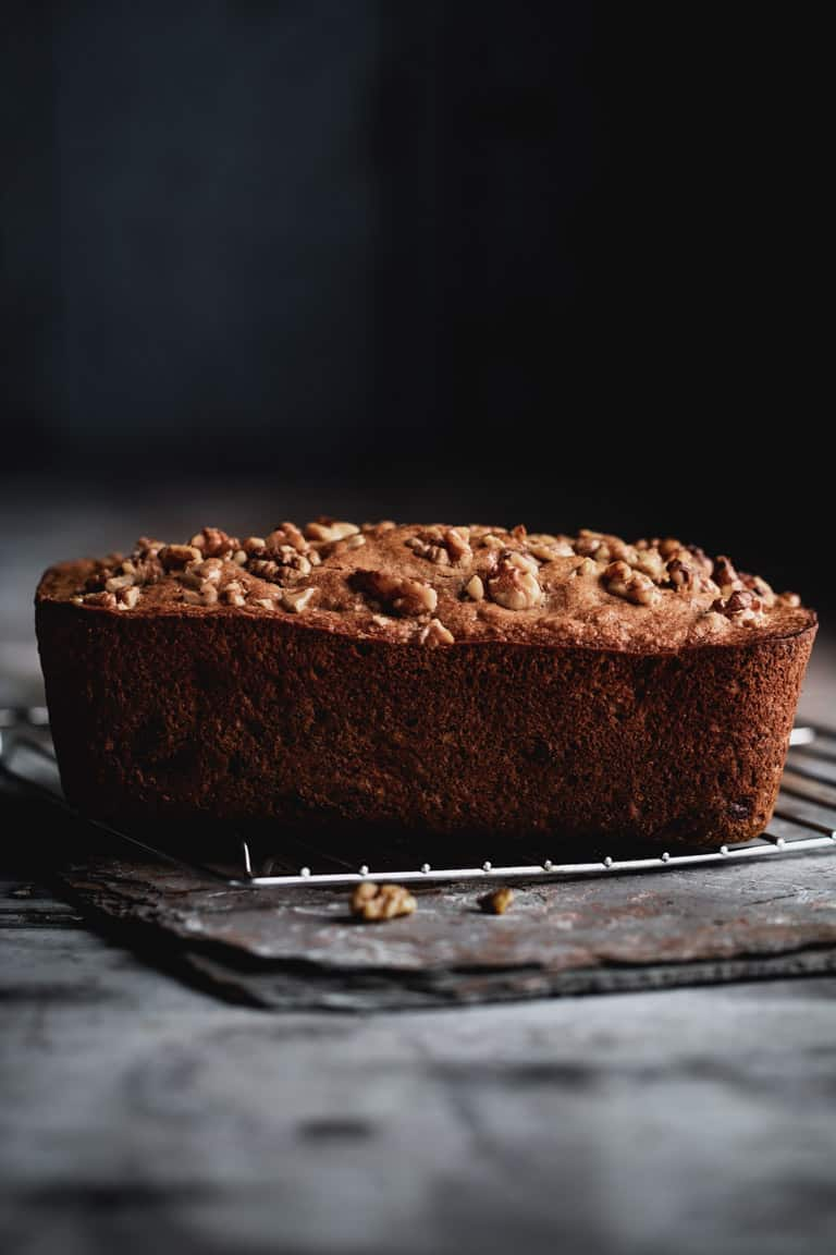 Healthy Banana Bread With Dates And Walnuts Healthy