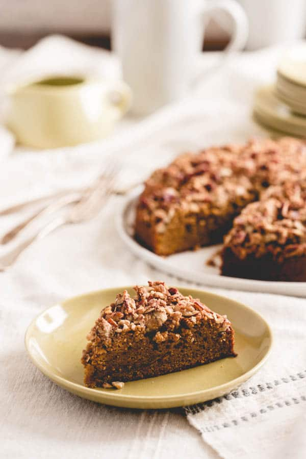 maple sweet potato coffee cake and maple cookbook tour part two