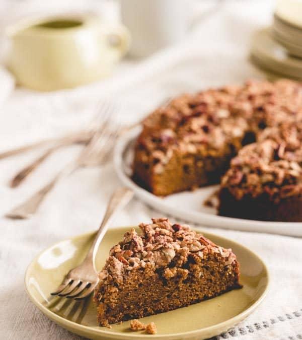 maple sweet potato coffee cake
