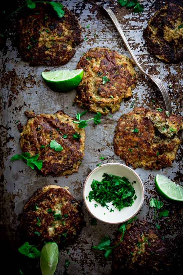mexican cauliflower patties