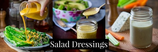 All Salad Dressings on Healthy Seasonal Recipes