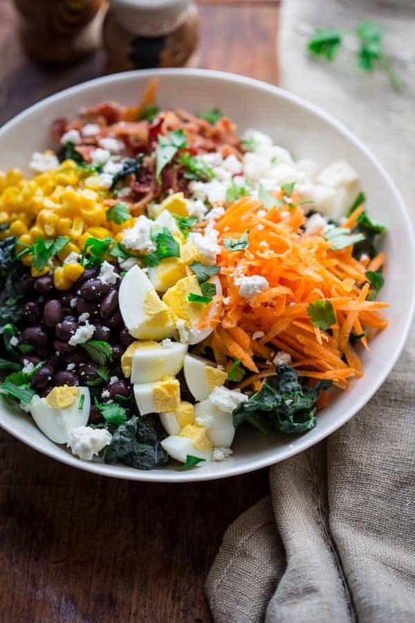 Southwest Cobb Salad in a large bowl