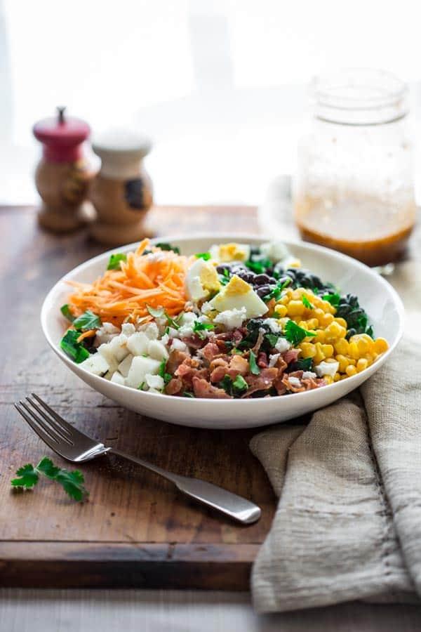 Southwest Cobb Salad in a bowl