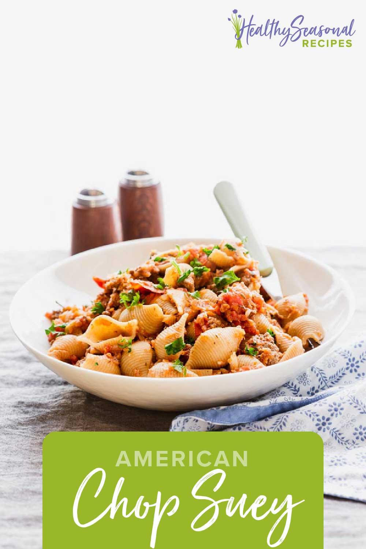 american chop suey (goulash)