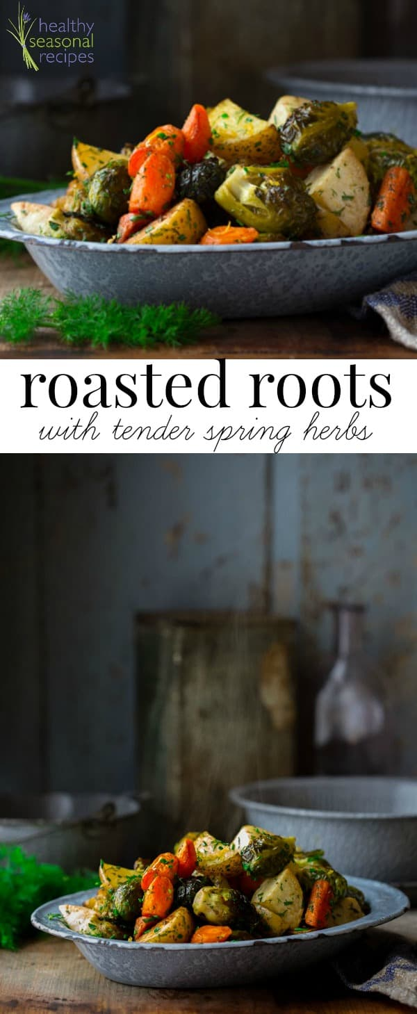 root veggie photos with text