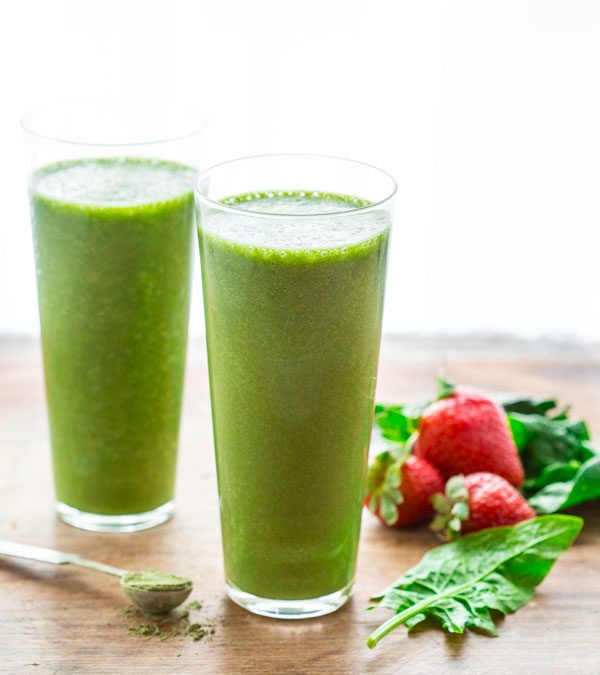 super green tea antioxidant smoothie