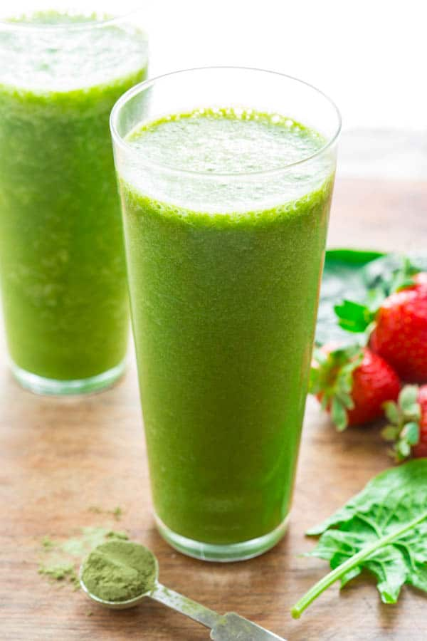 super green tea smoothie