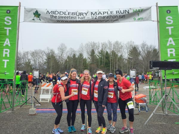 Cabot Fit Team 2016 at the Middlebury Maple Run