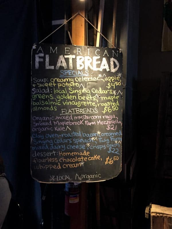 Flatbread in Middlebury VT with the Cabot Fit Team
