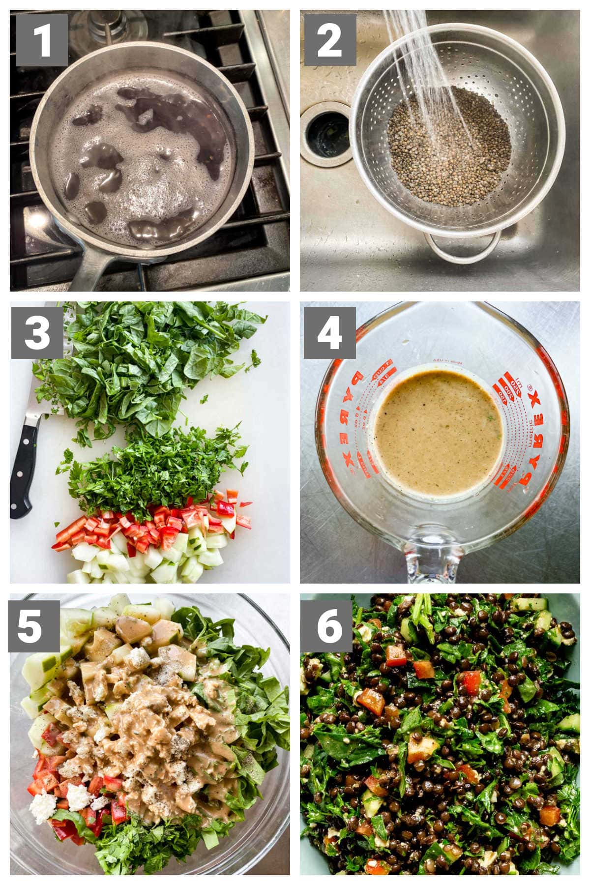 how to make the recipe in step by step photo collage