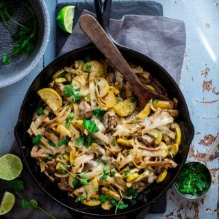 Chicken Tortilla Skillet, a simple gluten-free weeknight meal on Healthy Seasonal Recipes