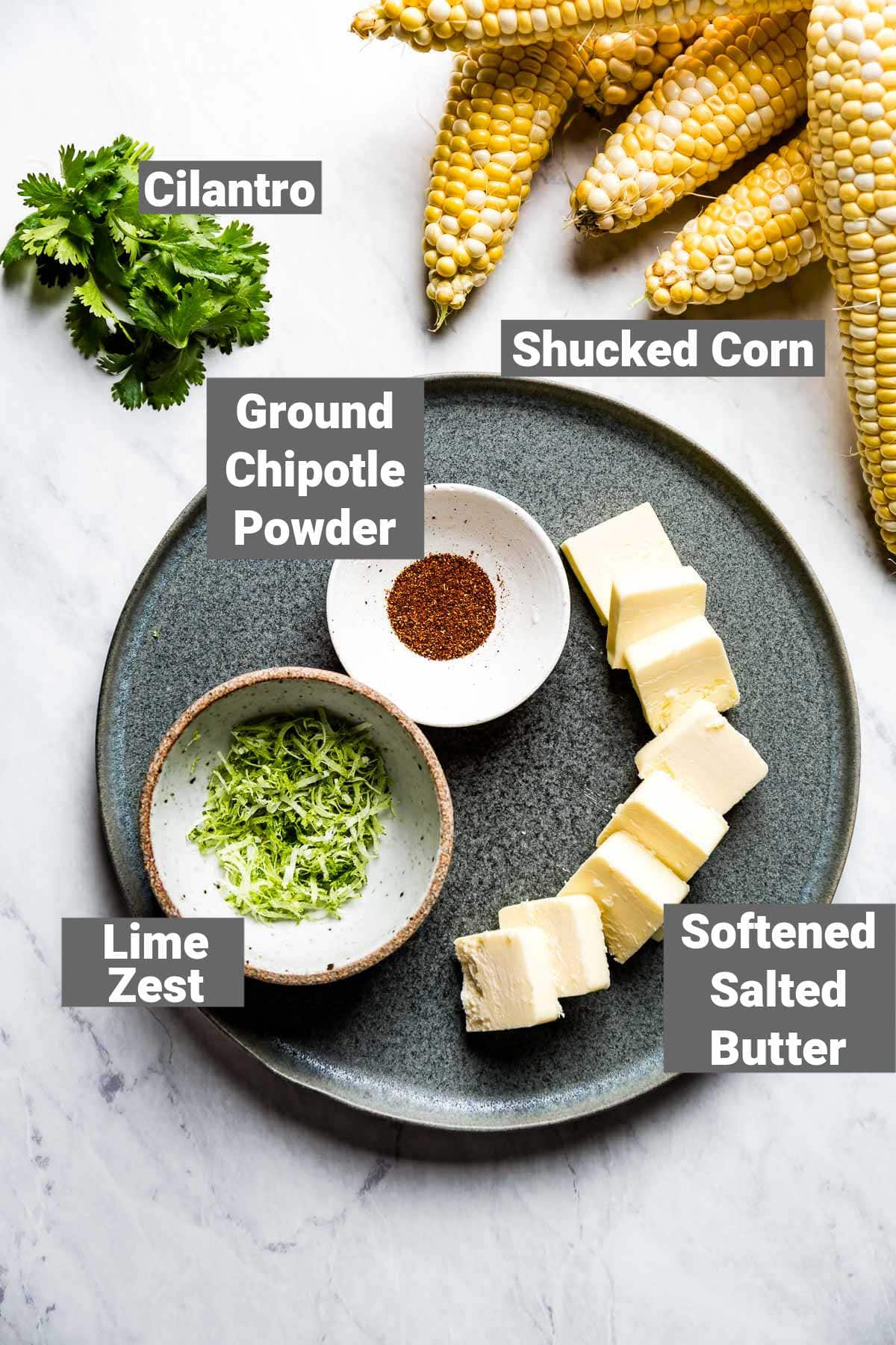 the ingredients with labels