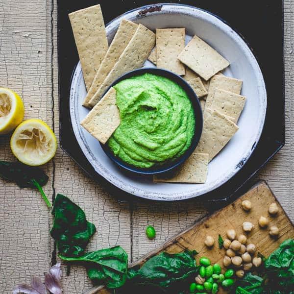 super green edamame hummus