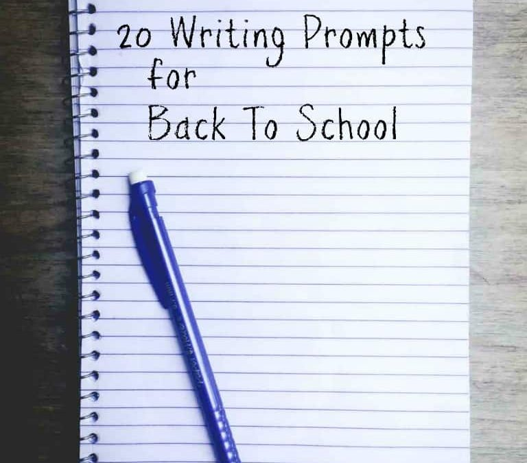 thursday things ~ food writing prompts for back to school blog posts
