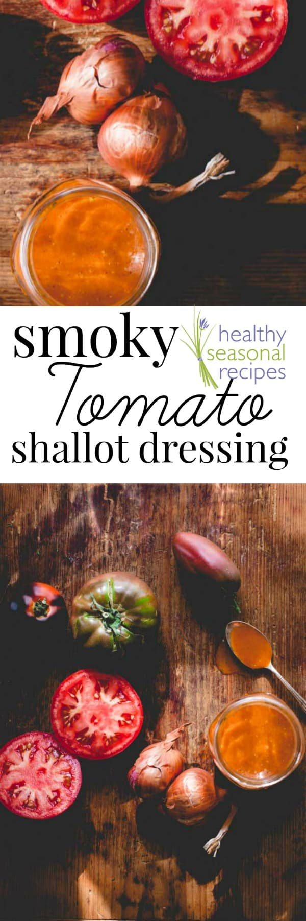 Text and tomato dressing