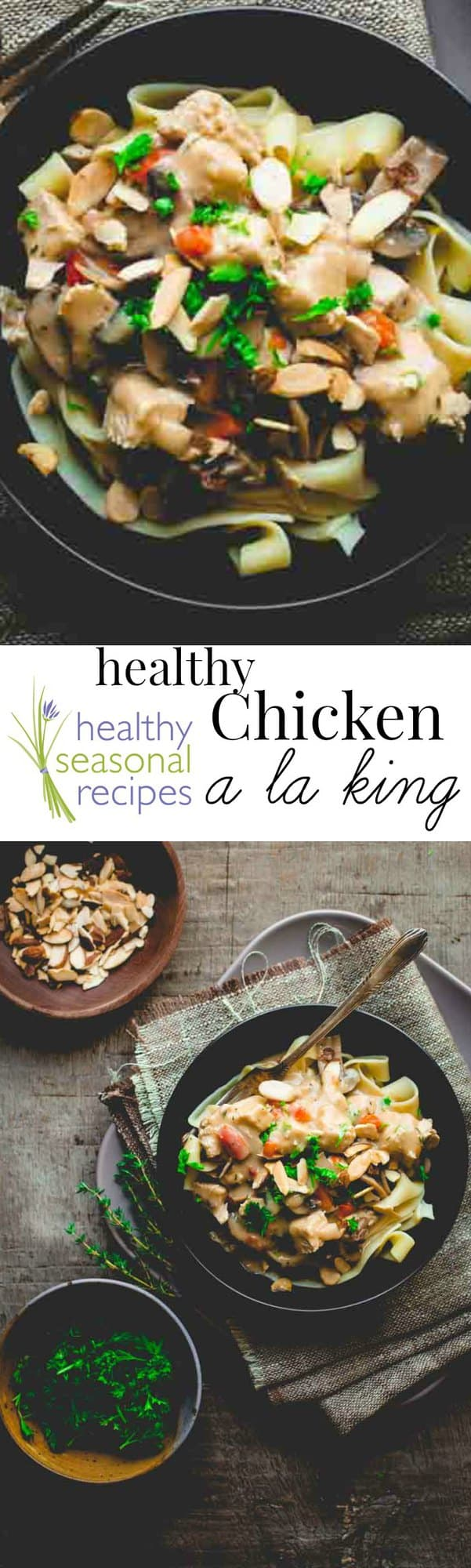 Healthy chicken a la king healthy seasonal recipes forumfinder Gallery