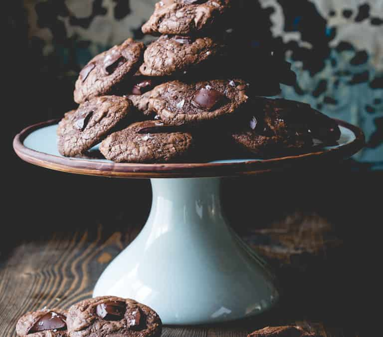 gluten free buckwheat chocolate cookies
